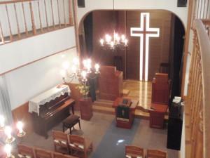 礼拝堂(講壇側)2
